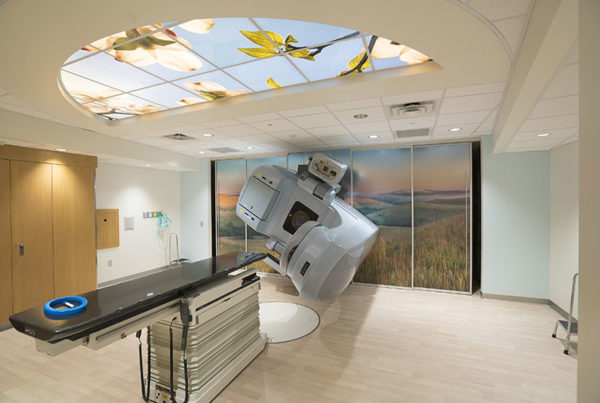 Patient Friendly Sky Ceiling