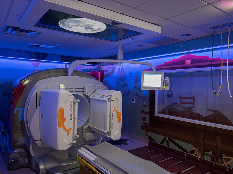 Adventure Series + Caring Suite - Patient Friendly Imaging Suite
